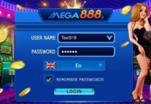 Register mega888 account