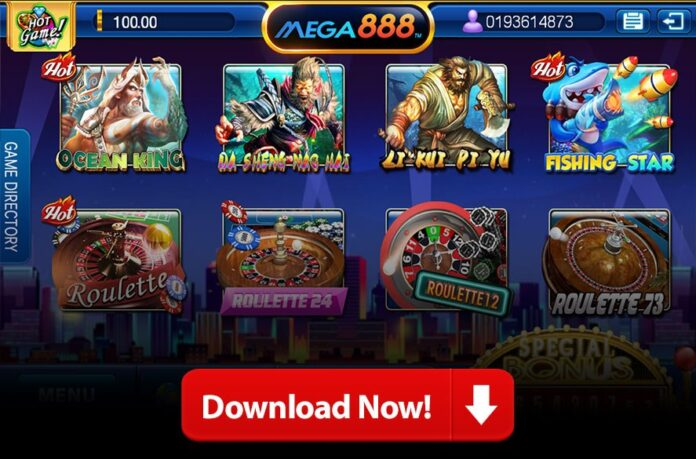 download mega888 link